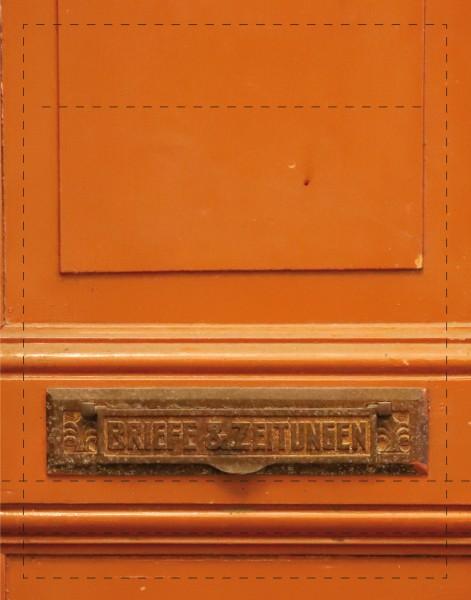 Deckel S - Briefe & Zeitungen