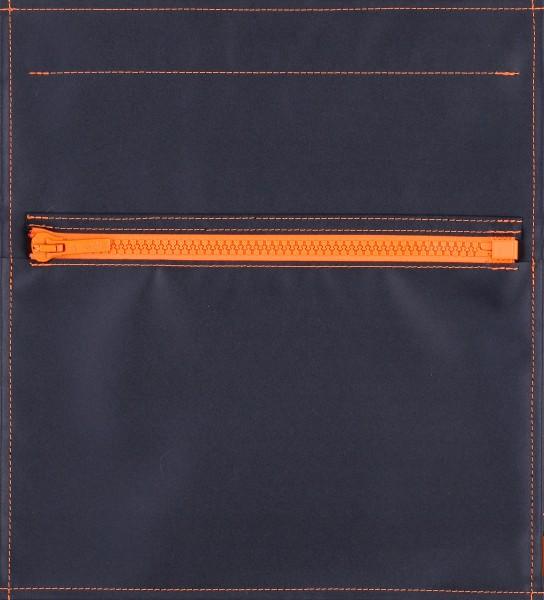 Wechseldeckel für Tasche - Taschendeckel matt - schwarz - Größe M