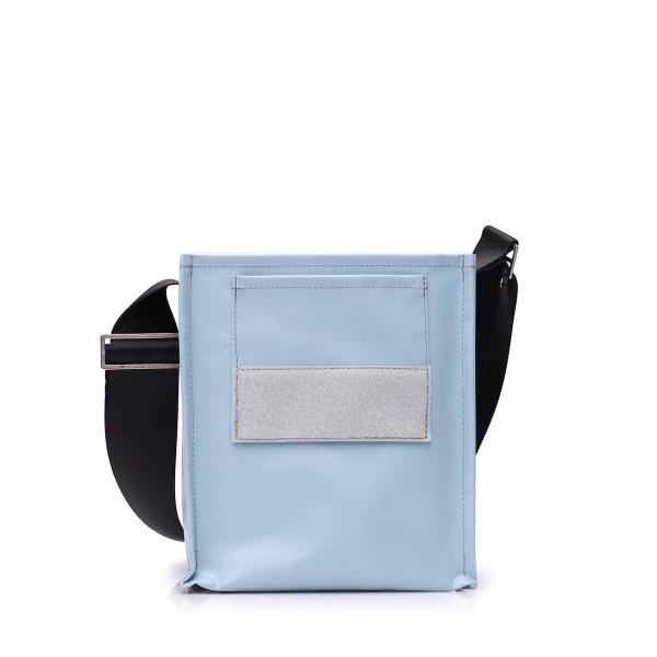handbag - to design yourself - »Forscherin« (researcher) - light blue - 1