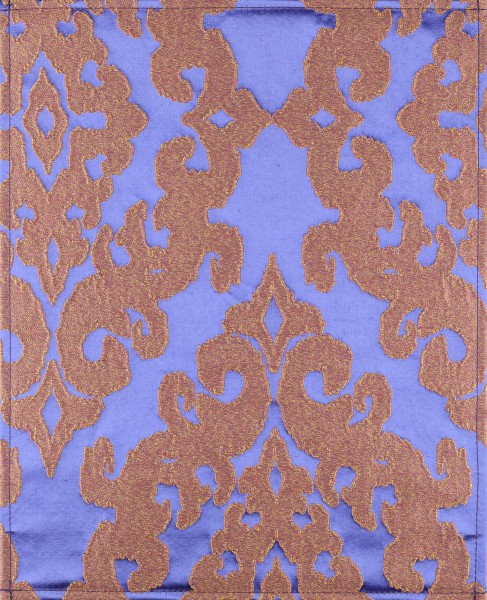 Wechselcover für Messengerbag - Prunk gold lila - Größe L
