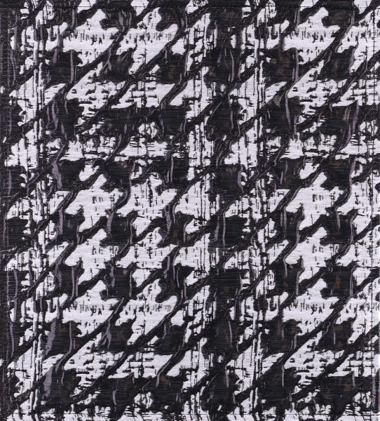 Exchangeable Flap for Notebookbag - Vernissage - black/white - Size M
