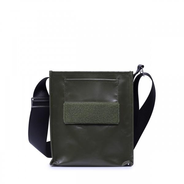 Tasche - zum selbst designen - Forscherin - oliv - 1