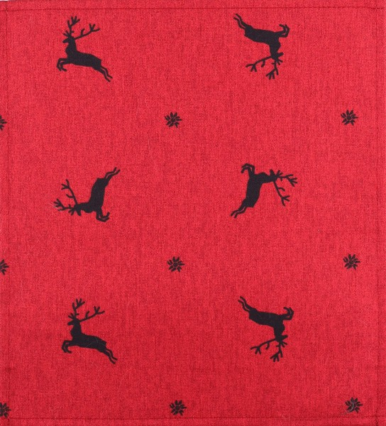 exchangeable cover for bag - Flying Stag - red/black- size M