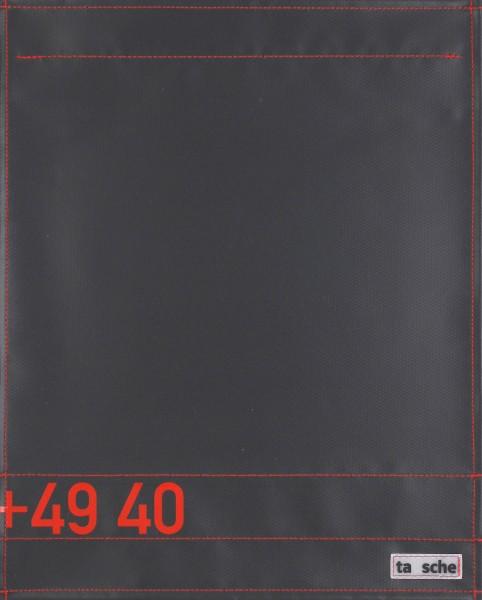 Deckel L - 49 40 schwarz/rot