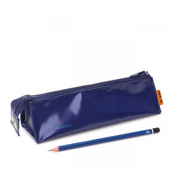 Pencil case - Anstifter darkblue