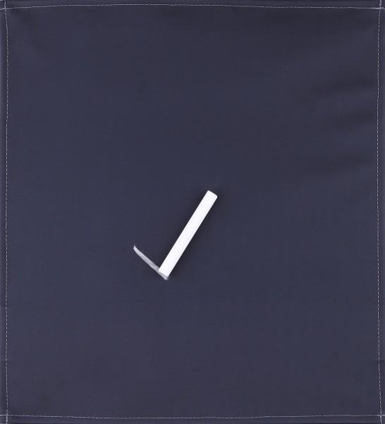 Wechselcover für Tasche - Tafelspaß - schwarz - Größe M