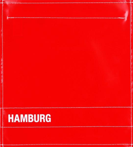Deckel M - Hamburg rot/weiß