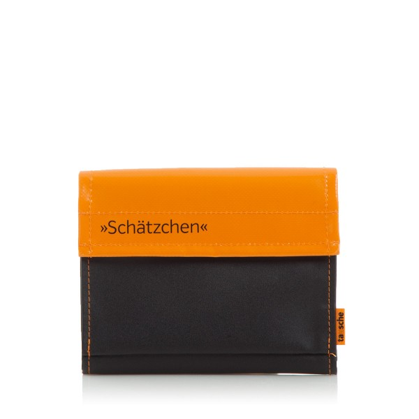 Digicamhülle - Plane - Mesh - Einsatz - Schätzchen - orange/schwarz - 1