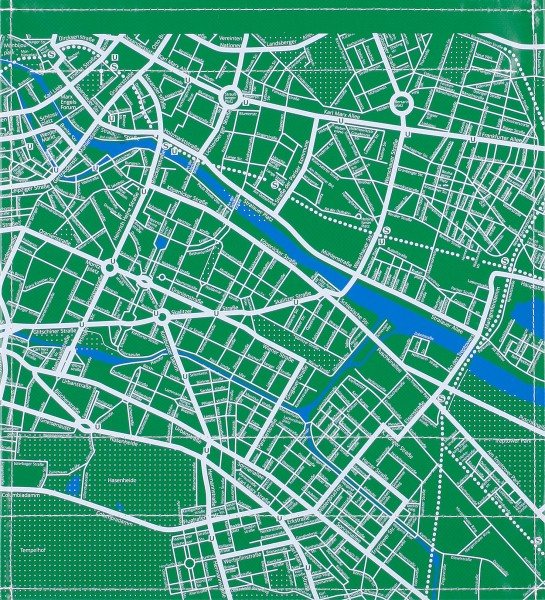 Flap M - Stadtplan green