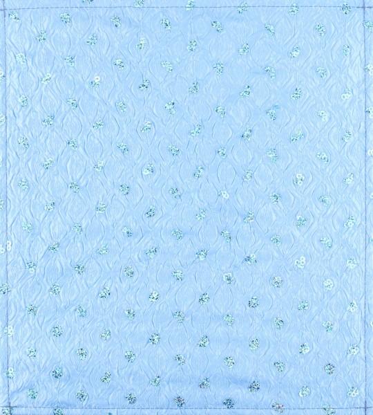 Wechselcover für Tasche - Badezimmerprinzessin - hellblau - Größe M