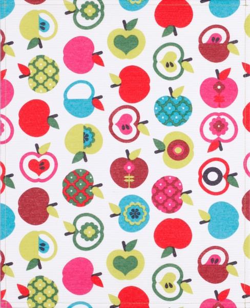 Exchangeable flap for shoulder bag - Love apple - colourful - size L