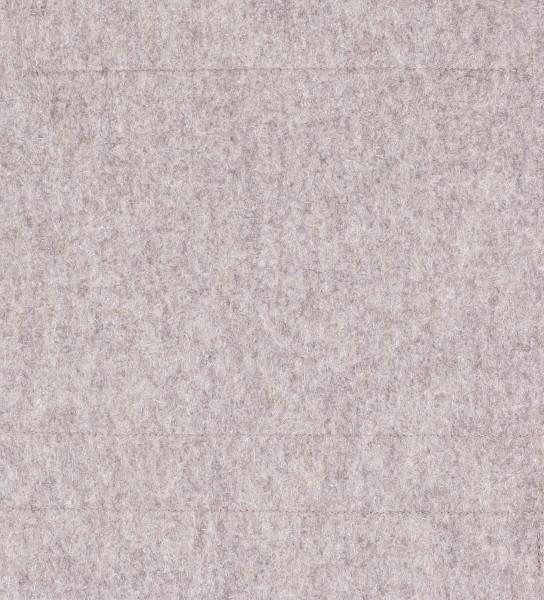 Deckel M - Filz graubraun