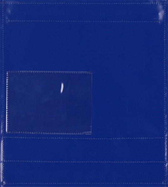 Wechseldeckel für Schultertasche - Fensterdeckel - blau - Größe M