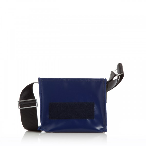 Handbag - with exchangeable flap - night owl - midnight blue - 1