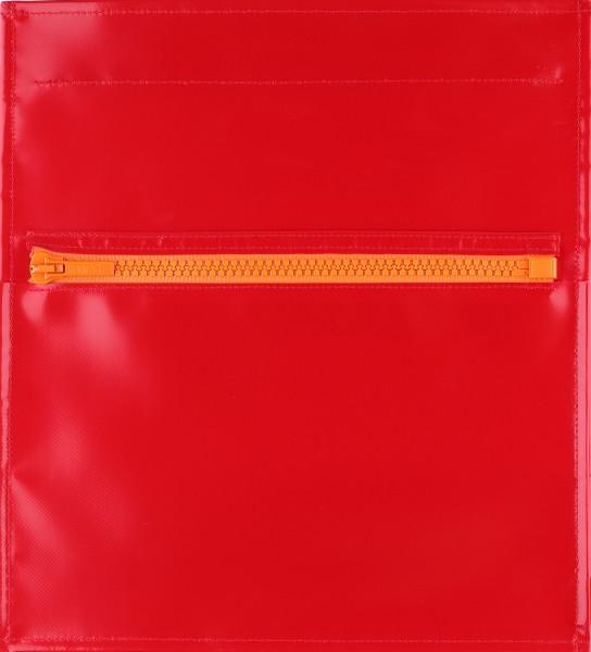 Deckel M - Taschendeckel rot