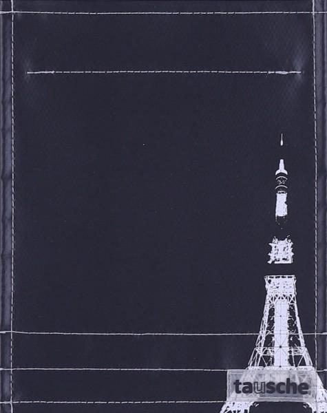 Deckel S - Tokyo Tower schwarz/silber