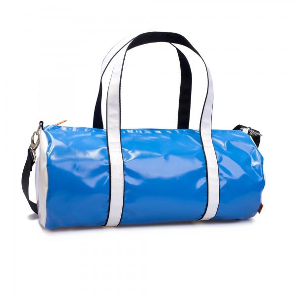 Sporttasche - LKW-Plane - Breitensportler - blau/weiß - 1