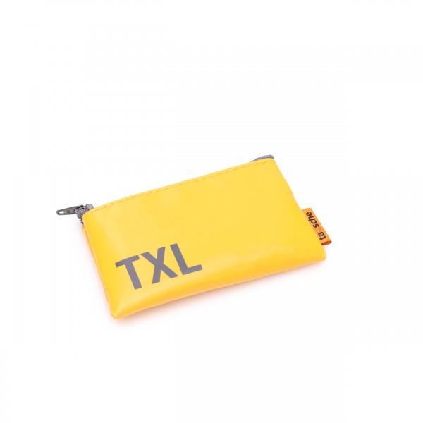 Credit card pouch - Truck tarpaulin - Rascal - yellow - 1