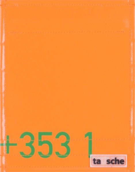 Interchangeable lid for bag/backpack - 353 1 - orange/green- size S