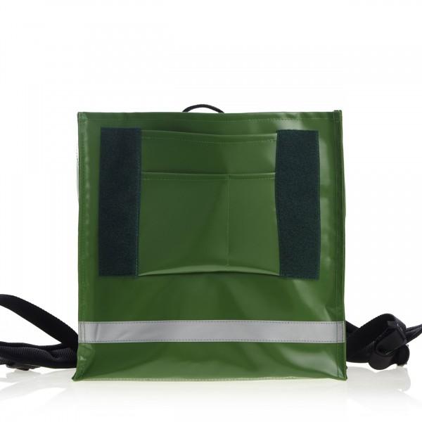 Schulranzen - wandelbar - aus Plane - Athletin - grün - 1