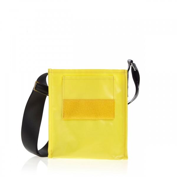 Tasche - zum selbst designen - Forscherin - gelb - 1