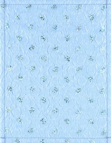 Exchangeable lid for bag - Bathroom Princess - light blue - size S