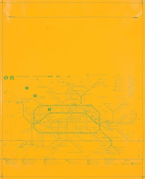 Flap L - BVG yellow/green