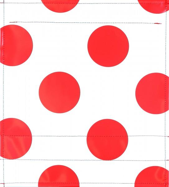 Wechselklappe für Umhängetasche - Bergtrikot - weiß/rot - Größe M