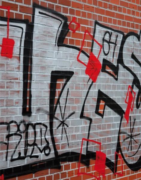 Deckel S - Graffiti Lüneburger