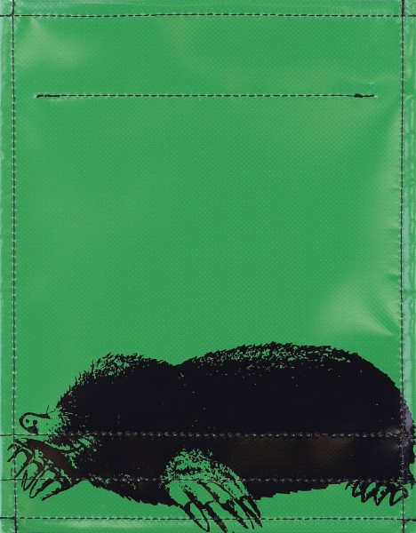 Exchangeable cover for bag - mole - green - size S