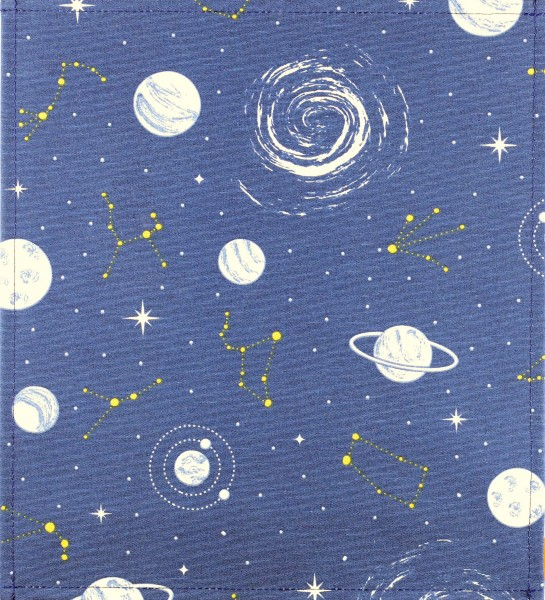 exchange cover for bag - galaxy- blue/white - size M