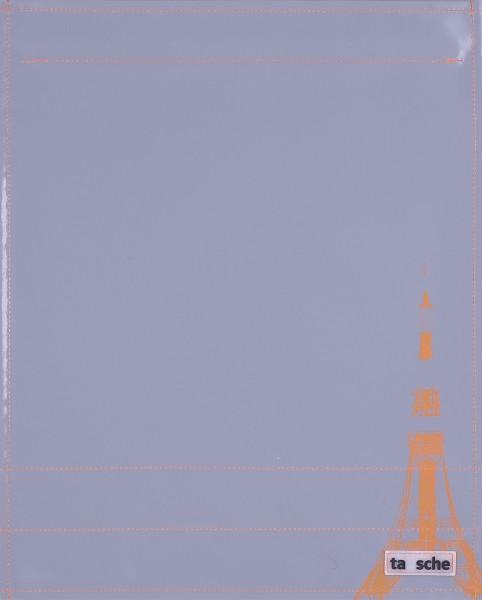 Deckel L - Tokyo Tower grau/orange
