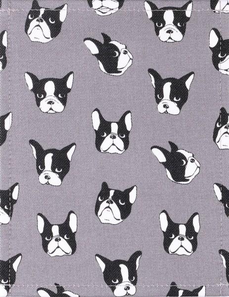 Taschendeckel S zum Wechseln, Französische Bulldogge