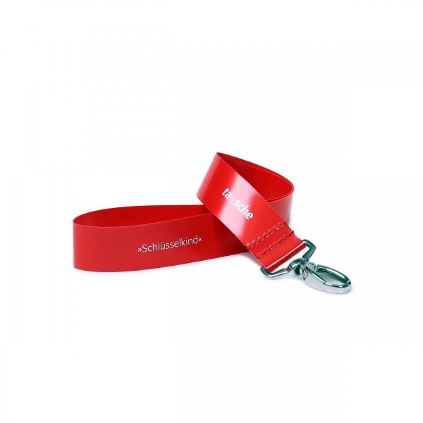 Schlüsselband - Schlüsselkind rot