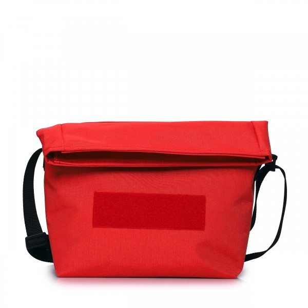 Handtasche - wandelbar - nachhaltig - Komplizin - paprika-rot - 1