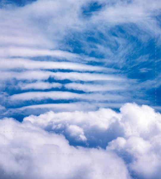 Deckel M - Wolkenstreifen