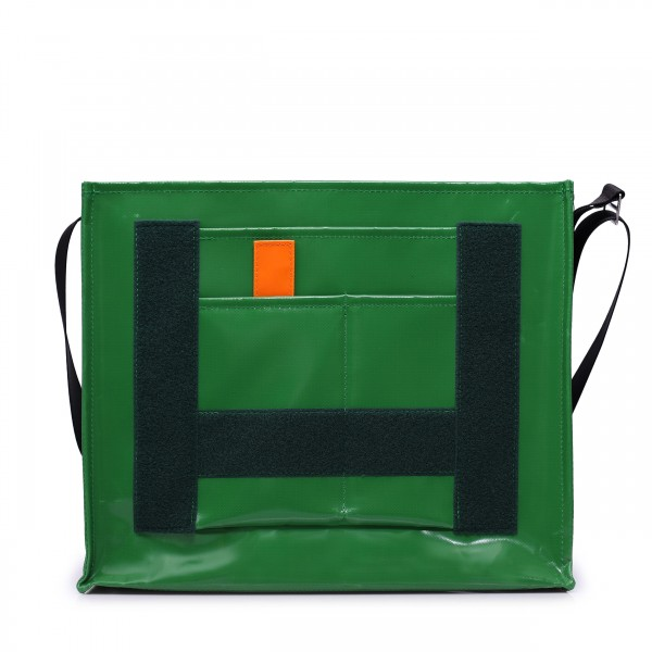 Messenger Bag - with exchangeable flap - Nomadin - green - 1