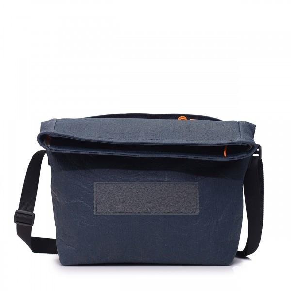 Handtasche - wandelbar - aus Ananasfaser - Komplizin - marine - 1