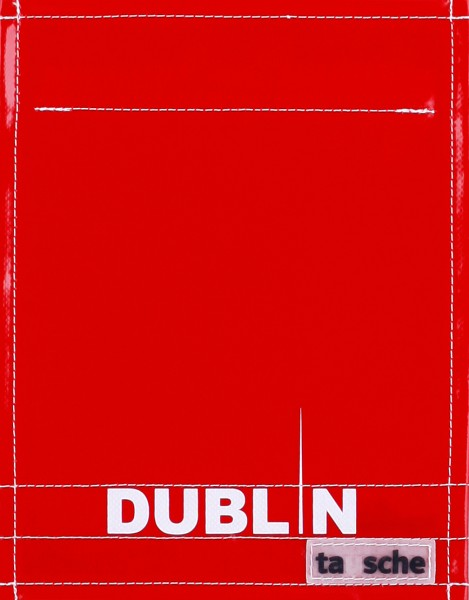 Exchangeable cover for bag - Dublin - red/white - size S