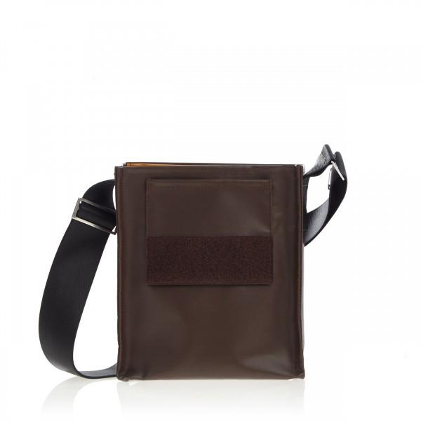 Tasche - zum selbst designen - Forscherin - dunkelbraun - 1