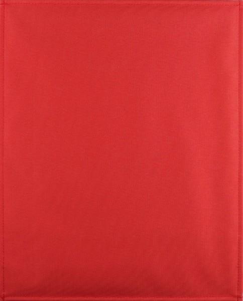 Wechselklappe für Umhängetasche - Cordura - paprika - Größe L