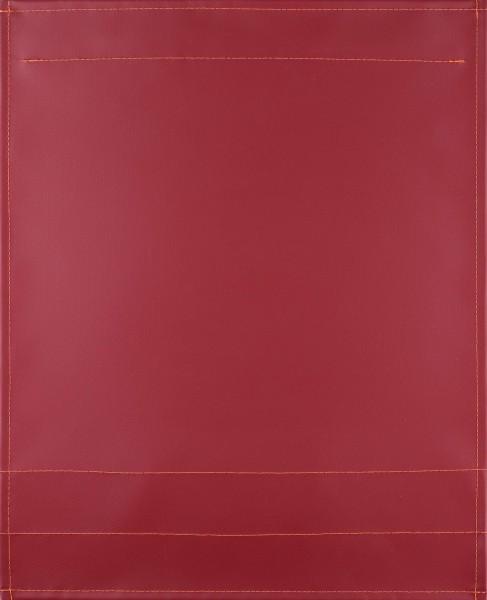 exchangeable flap for shoulder bag - truck tarpaulin pure - burgundy - size L