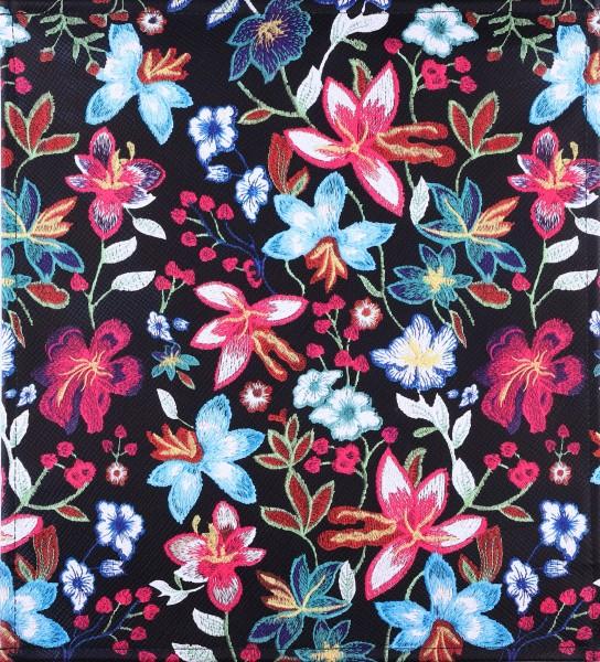 Exchangeable Bag Flap - Flower Magic black - multicoloured - Size M