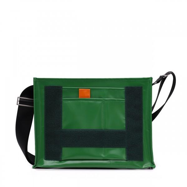 Umhängetasche - zum selbst Zusammenstellen - Tagediebin - grün - 1