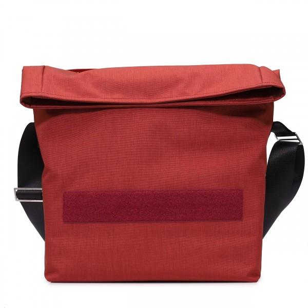 Kuriertasche - individualisierbar - Leistungsträgerin - chili-rot - 1