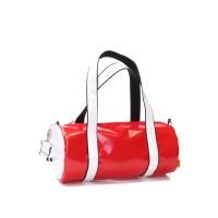 Handtasche - Grünschnabel rot/weiß