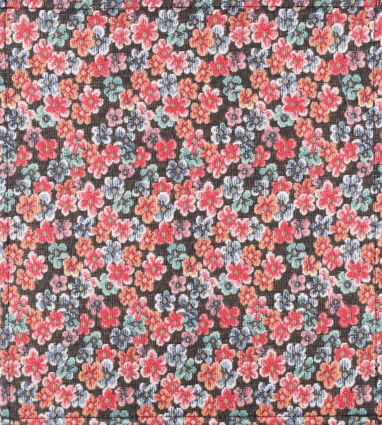 interchangeable cover for handbag - little flowers - red - size M