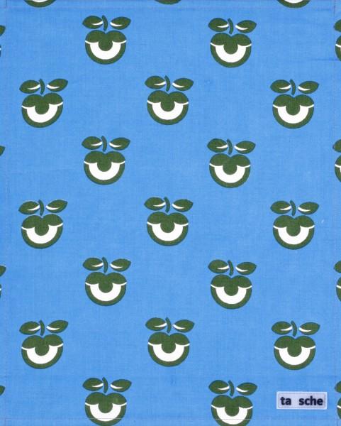 Deckel L - Apfel grün/blau