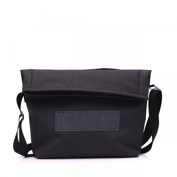 Handtasche - wandelbar - nachhaltig - Komplizin - granit - 1