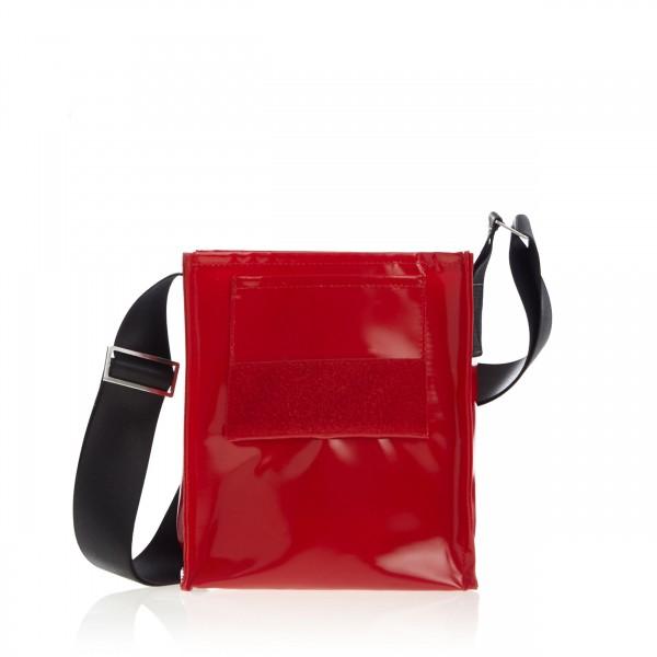 Tasche - zum selbst designen - Forscherin - rot - 1